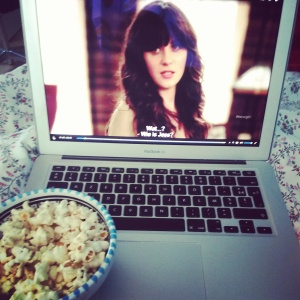 propercorn en new girl