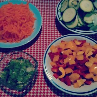 wrap met groenten