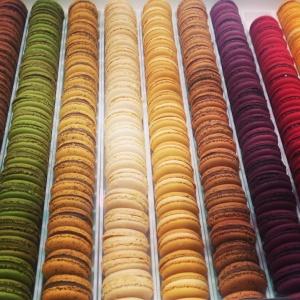 salon du chocolat macarons